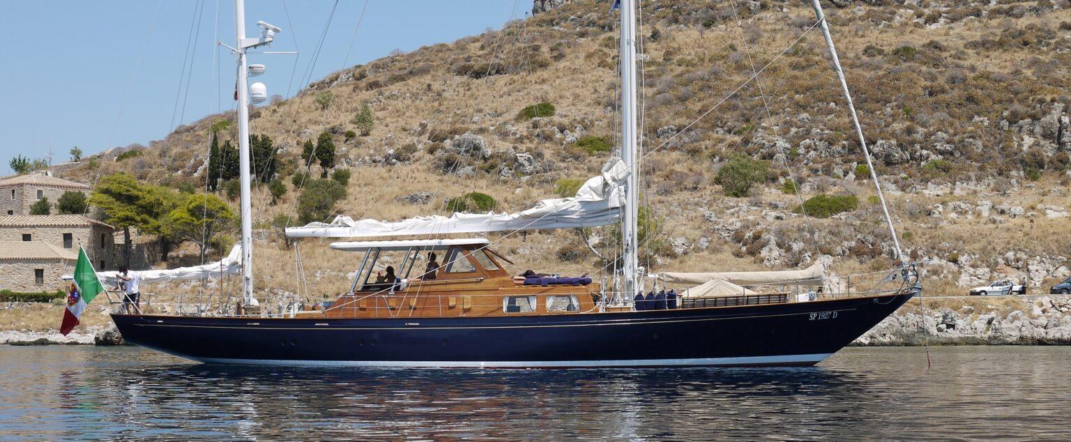 la romagna da uno yacht