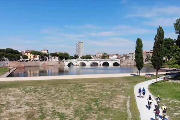 Rimini parco marechia veduta ponte Emotion Travel